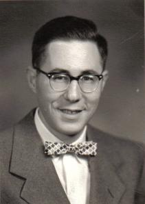 1950s, pre-fame Bill Glasser