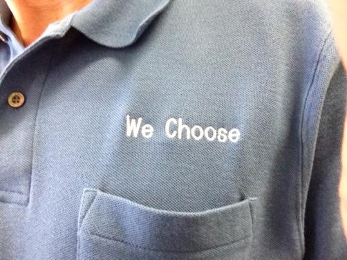 We Choose