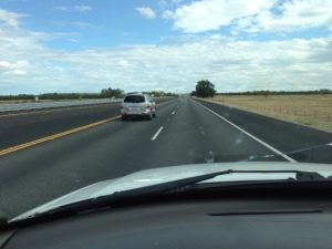 Passing on I 5