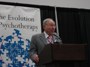 William Glasser, presenting at the Evolution of Psychotherapy Conference, 2005