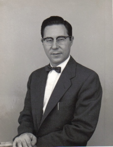 William Glasser, shortly after graduating from medical school, about to begin his psychiatric residency.