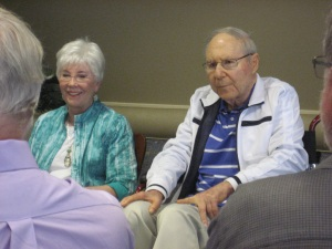 Bill and Carleen Glasser during the 2012 international conference.
