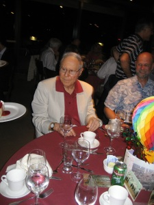 Bill Glasser at the banquet, held on the last evening of the conference, June, 2012.