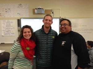 Three of those who attended the recent Choice Theory Study Group: Sonya Reaves, teaching principal at Oakhurst SDA Elementary near Yosemite; Joel Steffan, Gr. 5/6 at Foothills Adventist Elementary School in St. Helena, CA; and George Barcenas, Physical Education and Spanish teacher at Redwood Adventist Academy in Santa Rosa, CA.