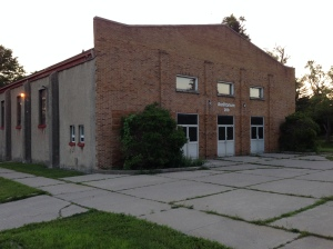 The old Kingsway gym.