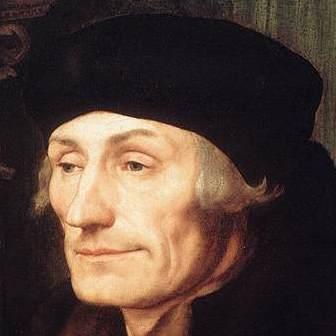 Erasmus. He looks a bit smug to me.