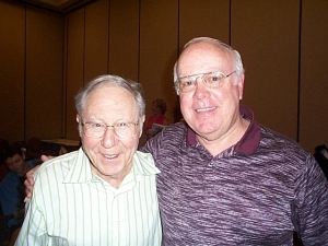 William Glasser and Brad Greene (2005) Photo by Jim Roy