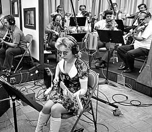 Carol Kaye, bass player for The Wrecking Crew, and one of the best bass players of all time.