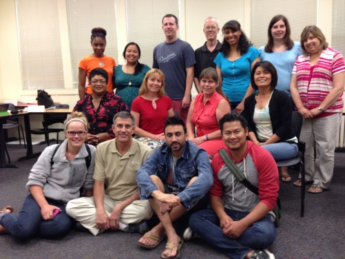 Last summer's Soul Shapers 1 class. (2014)