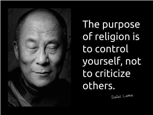 Purpose of religion